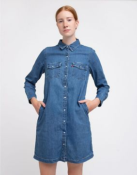 Levi's® Selma Dress Med Indigo S