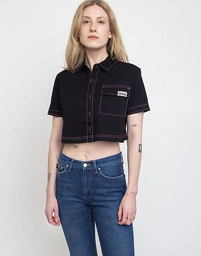 Vans Thread It Top Black L
