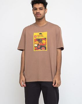 Lazy Oaf Seed Packet T-shirt Brown L