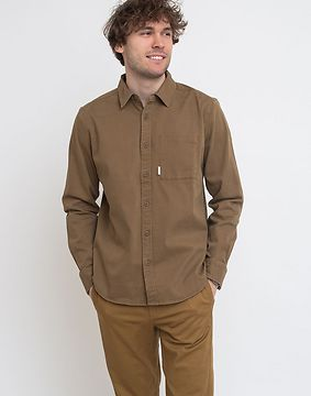 Topo Designs Dirt Shirt M Deep Khaki S