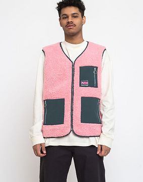 Lazy Oaf Grow Your Own Gilet Pink XS