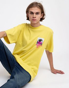 Stüssy Tribe Tee Lemon XL