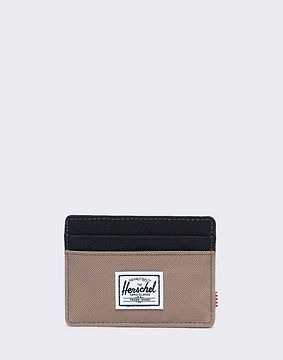 Herschel Supply Charlie RFID Pine Bark/ Black
