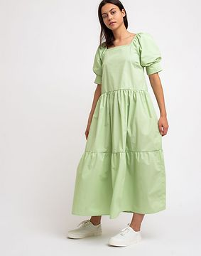 Edited Jill Dress Green 36