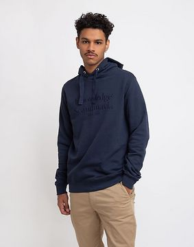 Knowledge Cotton Elm Knowledge Scandinavia Hoodie Sweat 1001 Total Eclipse XL