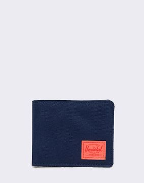Herschel Supply Roy RFID Peacoat/ Hot Coral Reflective