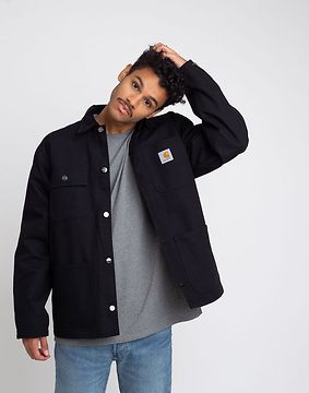 Carhartt WIP Michigan Coat Black Rigid M
