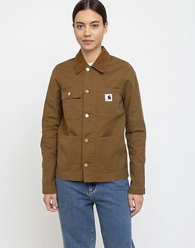 Carhartt WIP W' Michigan Jacket Hamilton Brown Rinsed M