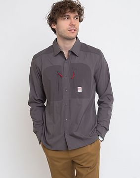 Topo Designs Tech Shirt M Charcoal XL