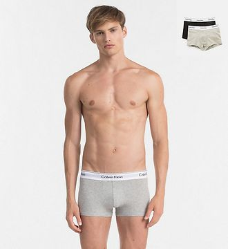 Calvin Klein 2Pack Boxerky Black And Grey M